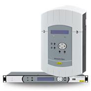 Řídící ústředna pro IP hodinové a audio systémy