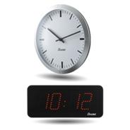 Ručičkové a digitální hodiny synchronizované NTP
